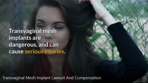 Transvaginal Mesh Implant Lawsuit-Call 866-382-5297