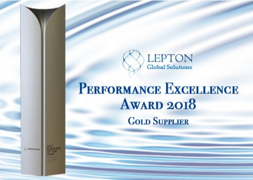 Lepton Global Solutions Receives Boeing Performance Excellence Award for 2018