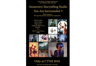 Immersive Storytelling Studio at CTN animation eXpo
