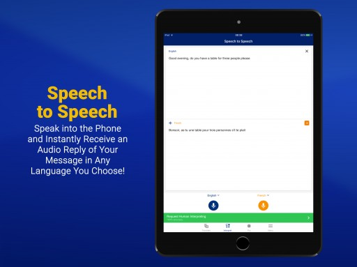 Day Translations Releases Speech to Speech Translation via Mobile App