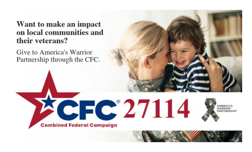 America's Warrior Partnership Empowers Veterans, Communities Through Combined Federal Campaign