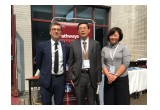 Michael, Mr.Zhu and Alison Wang(China Regional Manager)