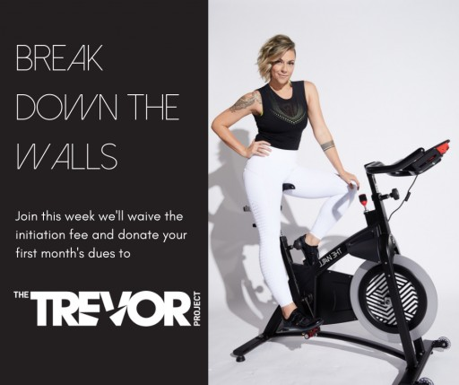 THE WALL Fitness Donates New Members' First Month Dues to The TREVOR PROJECT