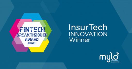 Mylo Wins InsurTech Innovation Award in 2021 FinTech Breakthrough Awards Program