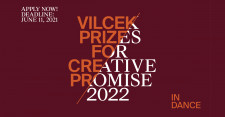 The 2022 Vilcek Prizes for Creative Promise in Dance