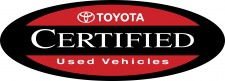 Kendall Toyota Certified Pre-Owned Vehicle Award