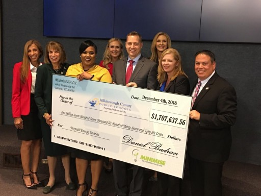 Minimise USA and Generate Capital Deliver $1.7 Million to Hillsborough County Public Schools