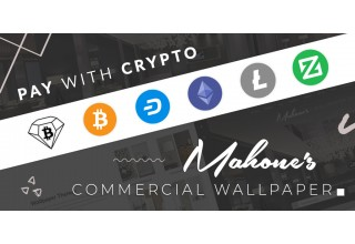 Mahone's Commercial Wallpaper Supported Cryptocurrencies