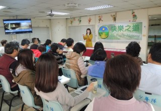 Training Kaohsiung police who work with juvenile offenders
