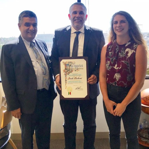 The City of Los Angeles Honors the Law Offices of Arash Hashemi