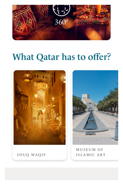 Qatar National Tourism Council Launches Personalised Travel Companion App