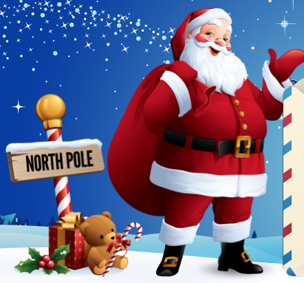 magicalxmasletterscom - Santa And The North Pole