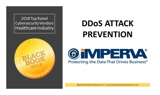 Imperva Ranks Top DDoS Attack Protection, 2018 Black Book Market Research Cybersecurity User Survey