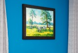 Truett Jones farm in Franklinton Louisiana framed in Frames4Canvas