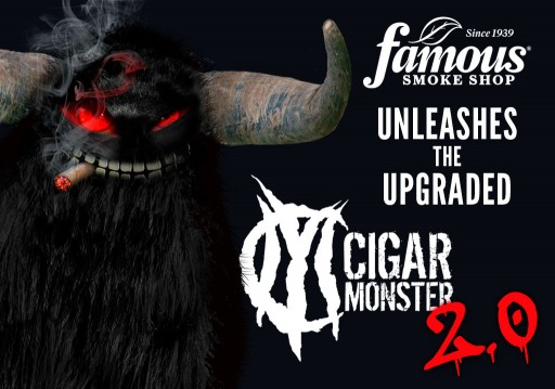 Famous Smoke Shop Unleashes the Upgraded Cigar Monster 2.0