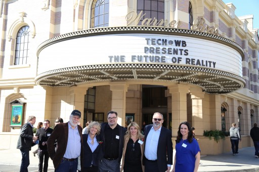 """The Future of Reality"" Partnered Warner Bros. Techies & Exceptional Minds"