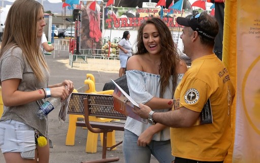 Scientology Volunteer Ministers at the Maricopa County Fair