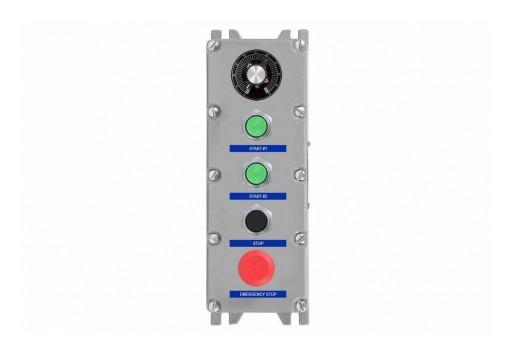 Larson Electronics Releases 24V DC Explosion-Proof Control Station, CID1, 10k Ohm Potentiometer