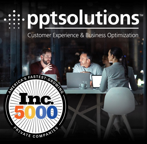 PPT Solutions Recognized as One of America's Fastest-Growing Companies for a Fourth Consecutive Year