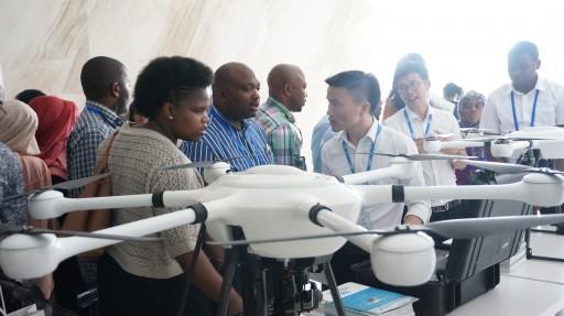 Delegation of Zanzibar and Lesotho Officers Visited JTT Technology for Drone Technology Exchange