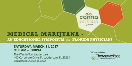 Physicians Gather for Medical Marijuana Educational Symposium as Legislative Session Starts This Week