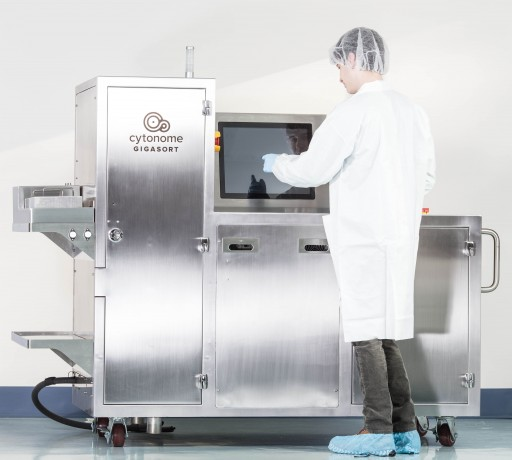 Sumitomo Dainippon Pharma Co. Ltd. Chooses Cytonome's GigaSort® Cell Sorting Technology for Cell Bioprocessing