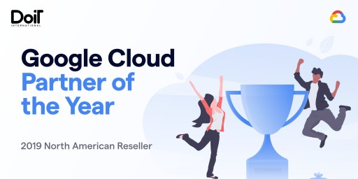 DoiT International Wins Google Cloud Reseller Partner of the Year Award for North America
