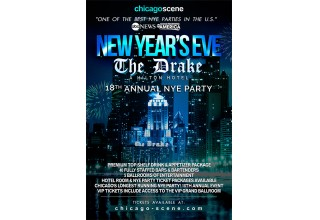 New Year's Eve Party 2018 at the Drake Hotel Chicago