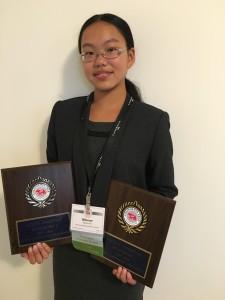 Athene Yu, State Champion
