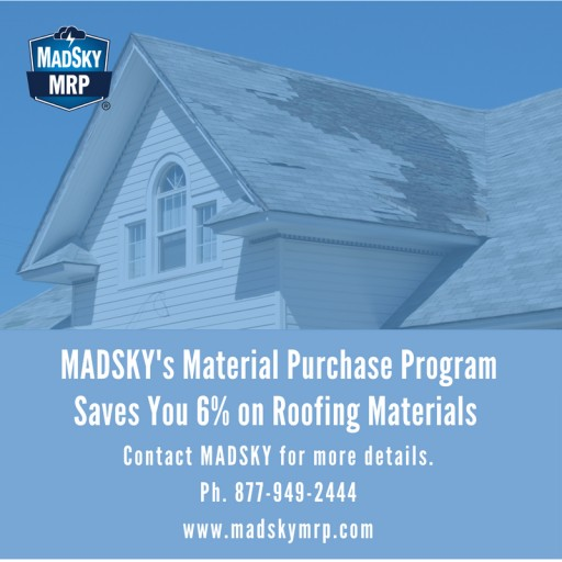MADSKY Launches Material Purchasing Program for Insurance Companies