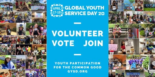 Youth Worldwide Do Good From Home During 32nd Annual Global Youth Service Day