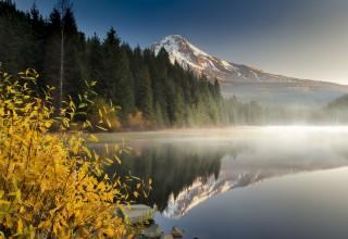 Trillium Lake on Oregon's Mt. Hood
