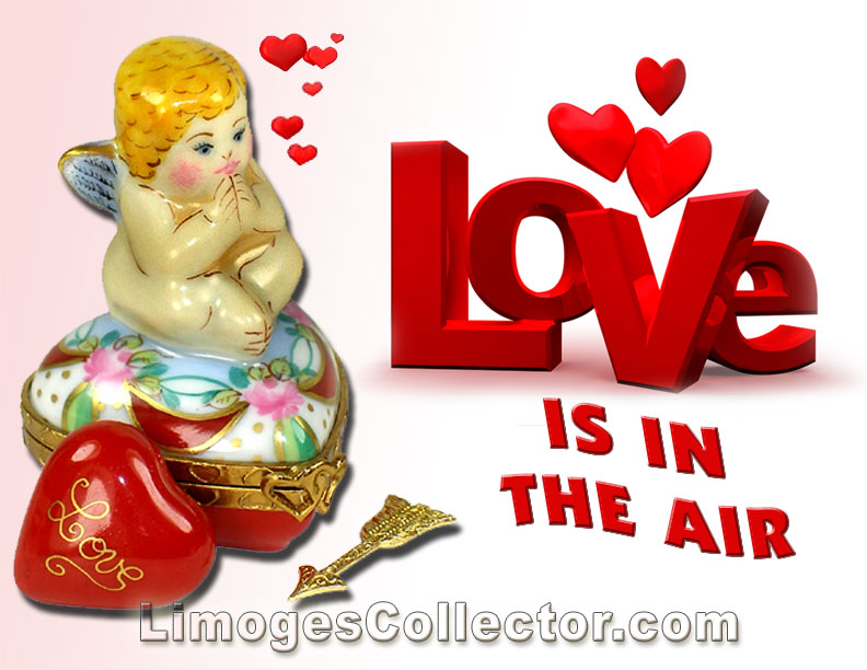 Love is in the Air With Valentine\'s Day French Limoges Box Gifts at ...