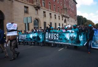 100-Man March in Pretoria
