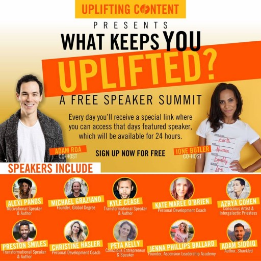 Uplifting Content Summit Features Top Motivational Speakers