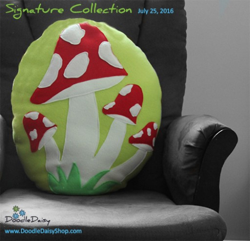 Doodle Daisy Launches Line of Custom Plush Toy Pillows Inspired and Created From Kid's Doodles