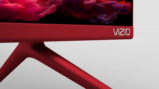 """VIZIO Collaborates With (RED) for Special Edition (VIZIO)RED P-Series 55"""" Class 4K HDR Smart TV to Help Fund the Fight Against AIDS"""
