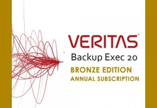 Veritas Backup Exec 20 Annual Subscription Bronze Edition