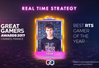 GreatGamers Awards RTS gamer of the year Neeb