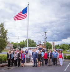 Kennedy Investment Group Flag Ceremony