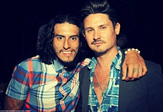 Actor Richard Cabral and Director Jon Matthews