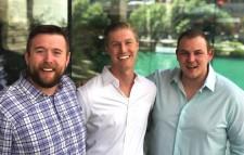 Justin McNally, Sterling Douglass, and Joe Lawton