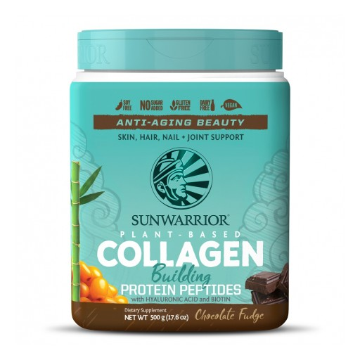 Plant-Based Collagen Building Protein Peptides Now Available From Sunwarrior