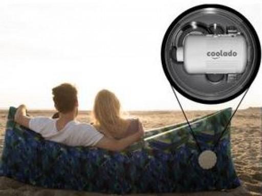 Coolado Introduces Revolutionary Self-Inflating Lounge Bag for Sun, Sea & Beach
