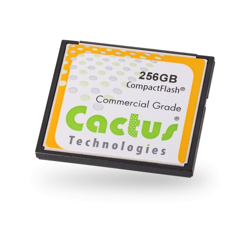 Cactus Technologies Launches New 240 Series MLC CompactFlash & SD Cards