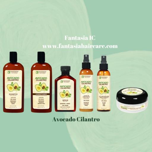 Introducing Fantasia's Natural Avocado Cilantro Haircare Line