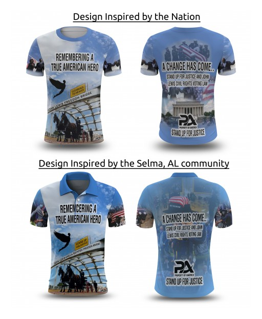 Property of America Releases New Line of T-Shirts, Merchandise Supporting the Renaming Edmund Pettus Bridge to John Lewis Freedom Bridge