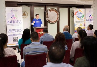 Ivan Arjona, Director of the Church of Scientology European Office of Public Affairs and Human Rights, conducted the seminar.