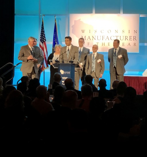Gamber-Johnson Wins Wisconsin Manufacturer of the Year Award