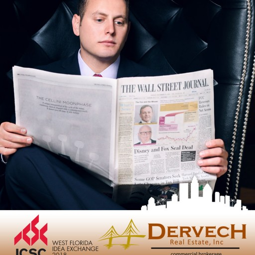 Jeff Dervech of Dervech Real Estate to Attend Annual 2018 ICSC West Florida Idea Exchange Conference in Tampa